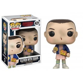 Funko Pop! Figure Eleven with Eggos Stranger Things 10 cm
