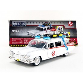 Modellino Hollywood Rides Ecto-1 Ghostbusters 1:24