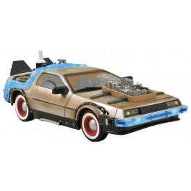 Modellino DeLorean Ritorno al Futuro III Luci e Suoni 1:15 - 36 cm