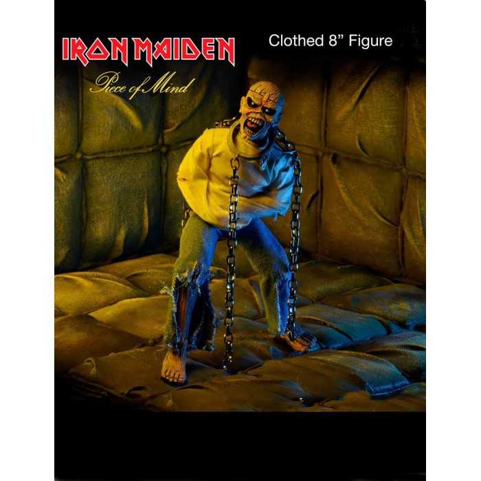 Action Figure Piece of Mind Iron Maiden Clothed Eddie