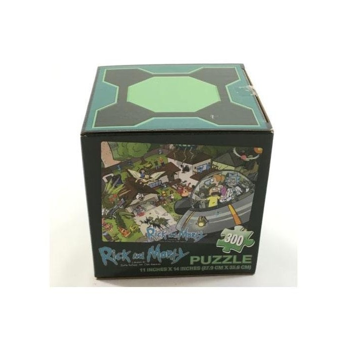 Puzzle Rick & Morty LootCrate Exclusive