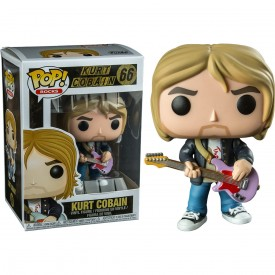 Funko Pop! Exclusive Figure Kurt Cobain Love & Loud
