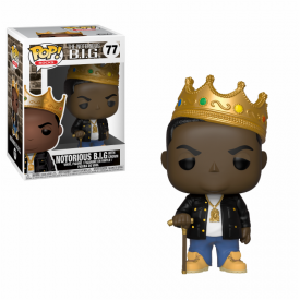Funko Pop! Figure The Notorious B.I.G. (with Crown)