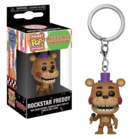 Portachiavi Pop! Rockstar Freddy Five Nights At Freddy's Pizzeria Sim.