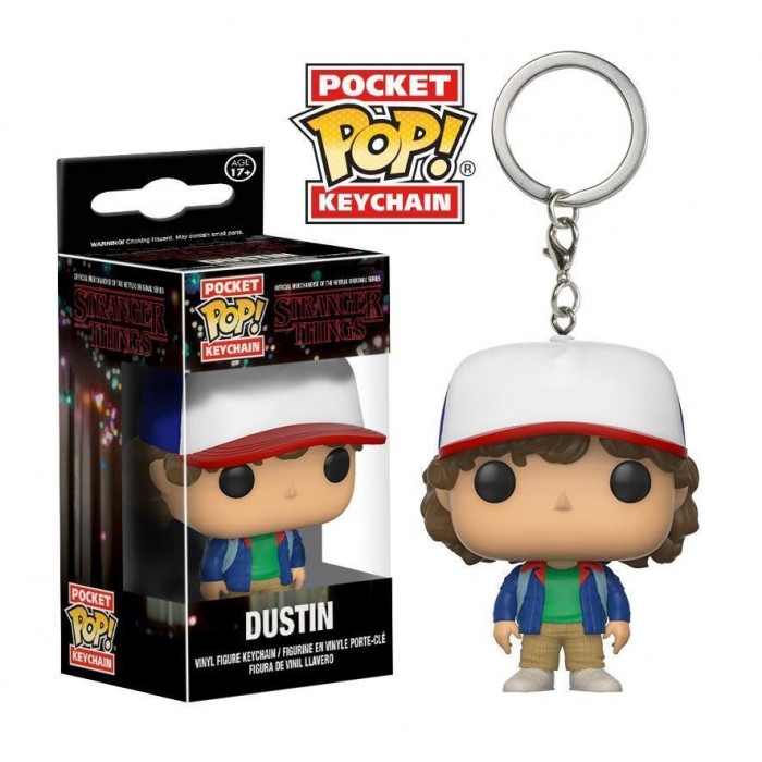 Portachiavi Pop! Figure Dustin Henderson Stranger Things
