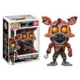 Funko Pop! Figure Nightmare Foxy Five Nights at Freddy's 10 cm
