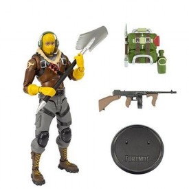 Action Figure Skin Raptor Fortnite Battle Royale