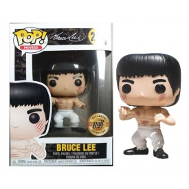 Funko Pop! Exclusive Figure Bruce Lee White Pants Enter The Dragon