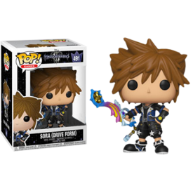 Funko Pop! Exclusive Figure Sora (Drive Form) Kingdom Hearts