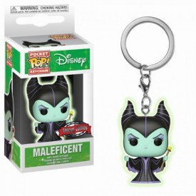 Portachiavi Exclusive Pop! Maleficent (Glows in the Dark) Disney