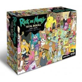 Gioco da Tavolo Total Rickall - Rick & Morty - Gioco di carte Cooperativo