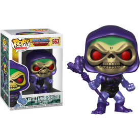 FUNKO POP! SKELETOR BATTLE ARMOR (METALLIC) Masters Universe