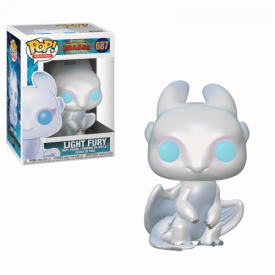 Funko Pop! Figure Light Fury - How To Train Your Dragon