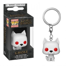 Portachiavi Pop! Ghost (Direwolf) Game of Thrones