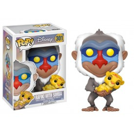 Funko Pop! Figure Rafiki with Simba Disney 10 cm