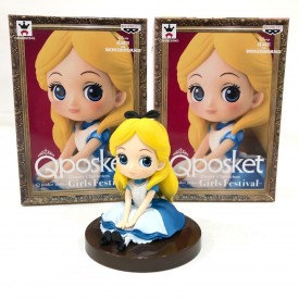 Statuetta Banpresto Disney Q Posket Alice in Wonderland
