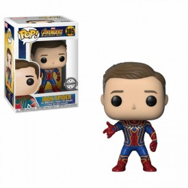 Funko Pop! Exclusive Figure Iron Spider Unmasked Marvel