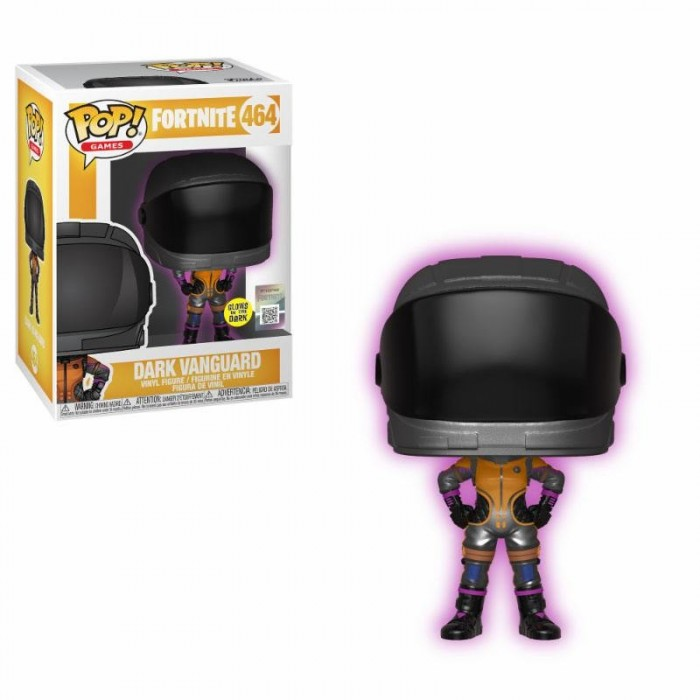 Funko Pop! Figure Dark Vanguard (Glows in the Dark) Fortnite