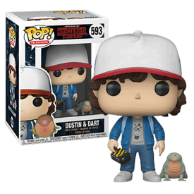 Funko Pop! Exclusive Figure Dustin (with Dart) Stranger Things