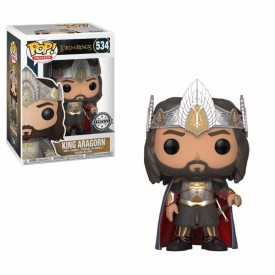 Funko Pop! Exclusive Figure King Aragorn Lord of the Rings
