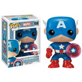 Funko Pop! Exclusive Figure Captain America (Photon Shield) Marvel
