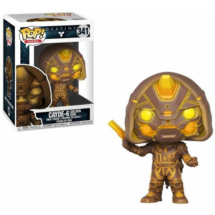 Funko Pop! Exclusive Figure Cayde-6 (Golden Gun) Destiny