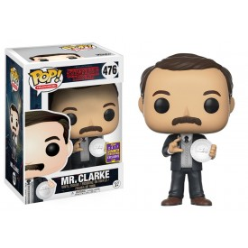 Funko Pop! Limited SCE 2017 Figure Mr.Clarke Stranger Things 10 cm