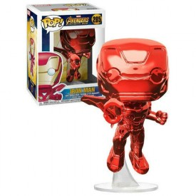 Funko Pop! Exclusive Figure Iron Man (Chrome) Marvel
