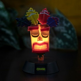 Lampada da tavolo Mini Figure Aku Aku Crash Bandicoot