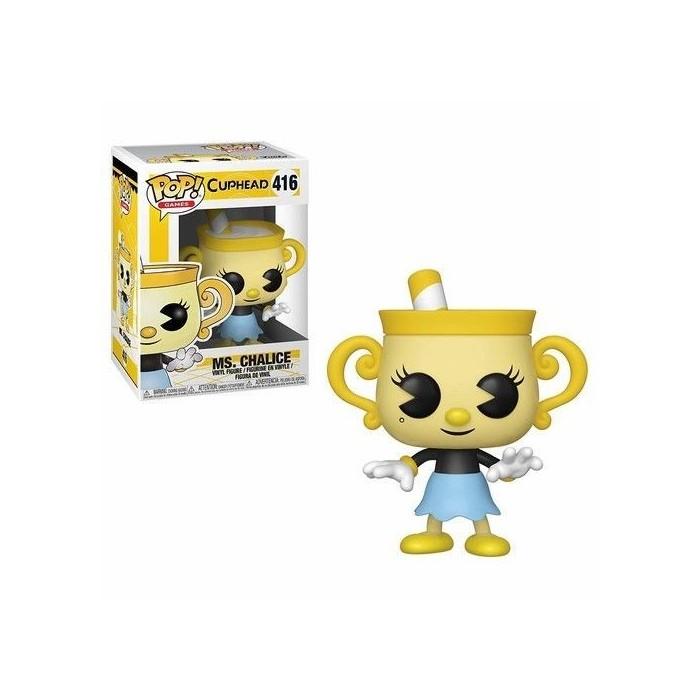 Funko Pop!  Figure Ms.Chalice Cuphead