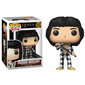 Funko Pop! Figure Freddie Mercury (Checker Suit) Queen Rocks
