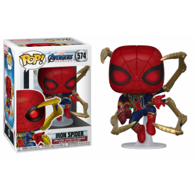 Funko Pop! Figure Iron Spider & Nano Gauntlet Avengers Endgame Marvel