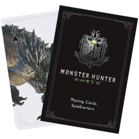 Carte da Gioco Monster Hunter World Sakami Merchandise