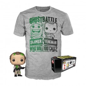 Funko Tee Box POP! + T-Shirt Peter Venkman Ghostbusters LIMITED