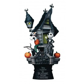 Diorama Nightmare Before Christmas Jack's Haunted House D-Stage