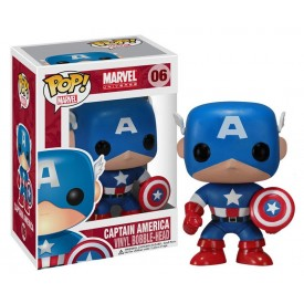Funko Pop! Figure Captain America Marvel Universe