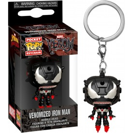 Portachiavi Pop! Venom Venomized Iron Man Marvel