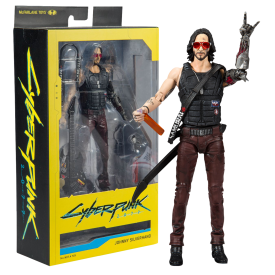 Action Figure Johnny Silverhand (Keanu Reeves) Cyberpunk 2077
