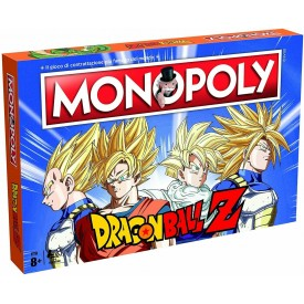 Monopoly Ufficiale Dragon Ball Z Winning Moves