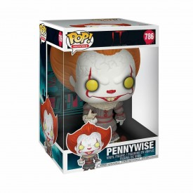 Funko Pop! Exclusive Pennywise (With Boat) Stephen King's IT SUPERSIZE