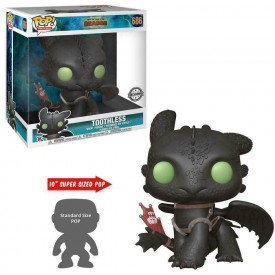 Funko Pop! Exclusive Toothless How To Train Your Dragon SUPERSIZE