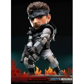 Figure Deluxe Statuetta Solid Snake Metal Gear Solid First4Figures