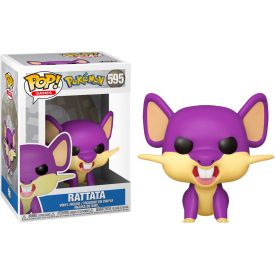 Funko Pop! Exclusive Figure Rattata Pokémon RARO - DAL 21 GIUGNO