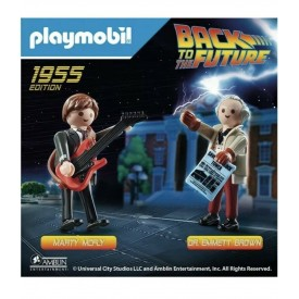 Playmobil Set Ritorno al Futuro Marty e Doc 1955