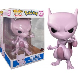 "Funko Pop! Exclusive MewTwo 25 cm 10"" Pokémon RARO SUBITO DISPONIBILE!"