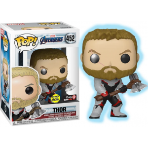Funko Pop! Exclusive Thor (Glows in the Dark) Avengers Endgame Marvel