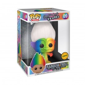 """Funko Pop! Exclusive Troll 25 cm 10"""" Good Luck Trolls SUPERSIZE CHASE!"""