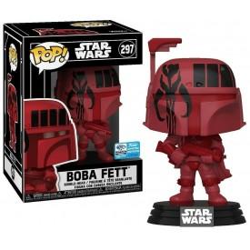 Funko Pop! Exclusive Boba Fett (Red Futura) Wondercon 2020 Star Wars