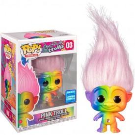 Funko Pop! Exclusive Troll (Pink Hair) Wondercon 2020 Good Luck Trolls!