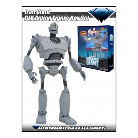 Action Figure The Iron Giant Deluxe SDCC 2020 Exclusive Diamond Select RARE
